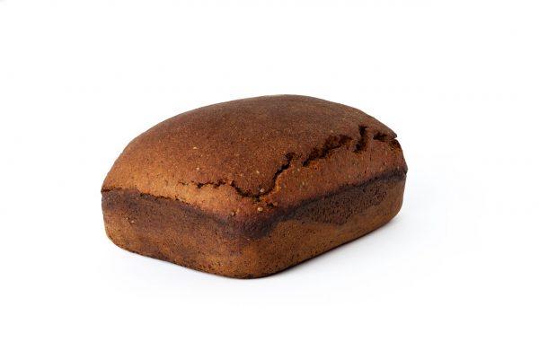 ruginė bemielė duona su kanapių sėklomis