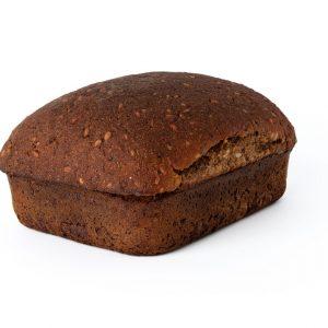 ruginė duona su saulėgrąžomis be mielių